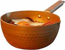 Pot De Soupe En Aluminium Antiadhésive Grande