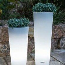 Pot lumineux solaire Ficus 80 SmartTech, recharge