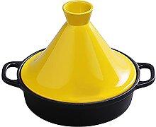 Pot Taji Casserole En Fonte Émaillée Riz Claypot