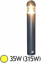 Potelet conique LED 35W (315W) IP65 Blanc chaud