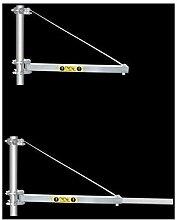 Potence bras telescopique pour palan electrique