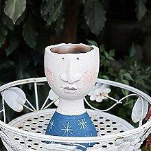 Pots De Fleurs, Des Plantes Pots, Face Design Pot