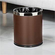 Poubelle 10L poubelle canaille sans couvrir rond