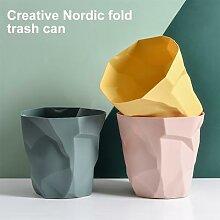 Poubelle à déchets en papier, corbeille à