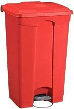 poubelle agroalimentaire plastique à pédale 90 l