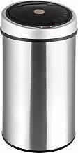 Poubelle Automatique de Maison, Design en Acier 50L