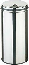 Poubelle automatique Sensor 42 L ronde inox -