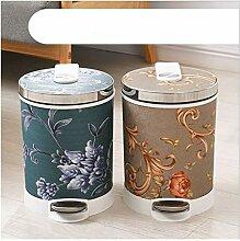 poubelle Barrel Forme Trash Can plastique