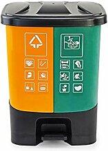 poubelle cuisine Pédale-type poubelle à la