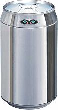 Poubelle de cuisine automatique CAN argent inox 30L