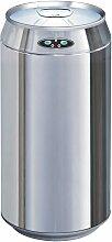 Poubelle de cuisine automatique CAN argent inox 42L