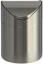 poubelle de table 1.5 litres h:16.5 cm l:16.5 cm