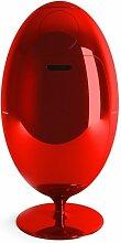 Poubelle de tri Gala Glossy 84x45 Rouge - Rotation
