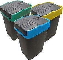 Poubelle de Tri sélectif | Bac pour le Recyclage