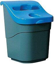poubelle de tri selectif de bureau