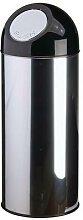 poubelle dome 55l inox 31 x 82