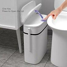 Poubelle intégrée avec brosse de toilette, 14