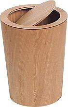 Poubelle La poubelle avec une poubelle pivotante