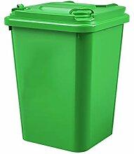 Poubelle Les ordures en plastique extérieures