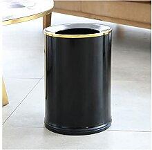 Poubelle Les ordures métalliques peuvent ouvrir