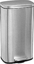 Poubelle métal PEGASUS inox 30 L