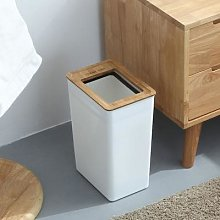 Poubelle minimaliste de cuisine et salle de bain,