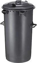 Poubelle modulaire en plastique capacité 110 l