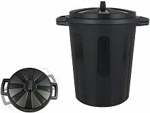 Poubelle noir - Rogal