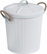 Poubelle Salle de Bain design, petite poubelle 6L,