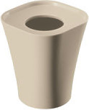 Poubelle Trash H 28 cm - Magis beige en matière
