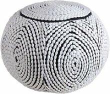 Pouf boule en polyester