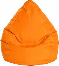 Pouf Poire Brava L orange - orange