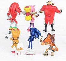 Poupée Sonic Lot de 6 Super Sonic Sonic Kid Super