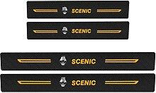 Pour Renault Scenic Voiture Style Seuil En Cuir