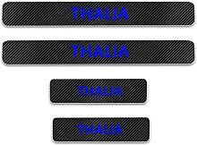 Pour Renault Thalia Voiture Style Seuil En Cuir