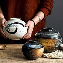 PPuujia Bol à dessert japonais en céramique avec
