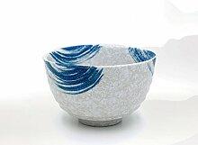 PPuujia Bol à matcha japonais en céramique