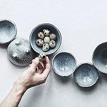 PPuujia Bol à mélanger en céramique de style