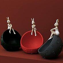 PPuujia Creative Space Bunny Girl Plateau à