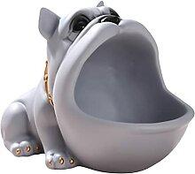 PPuujia Gamelle décorative en forme de chien pour