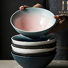 PPuujia Grand bol japonais en céramique pour la
