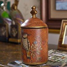 PPuujia Sucrier vintage en céramique pour la