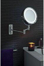 Pradel - Miroir Grossissant (X5) Lumineux Mural -
