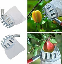 Pratique 1pc Métal Fruit Picker Pratique Sac en