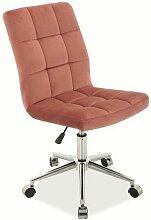 PREJA | Chaise pivotante avec roulettes pour tapis