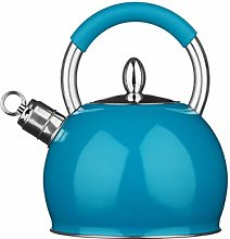 Premier Housewares Bouilloire Sifflante Bleu -