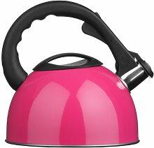 Premier Housewares Bouilloire Sifflante Rose -
