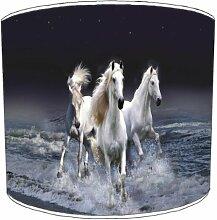 Premier Lighting Ltd 12 inch Three White chevals