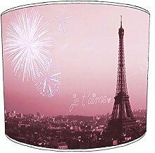Premier Lighting Ltd 8 inch Paris abat-jour12 pour