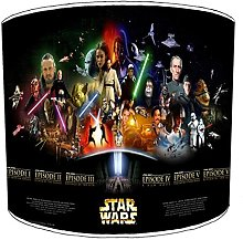 Premier Lighting Ltd 8 inch Star Wars Abat-Jour